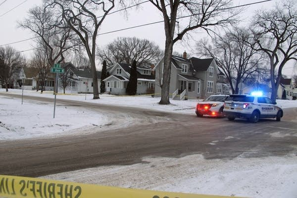 Fargo crime scene