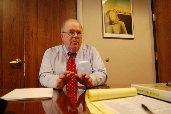 MnSCU Chancellor James McCormick