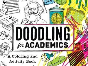 """Doodling for Academics"" book cover"