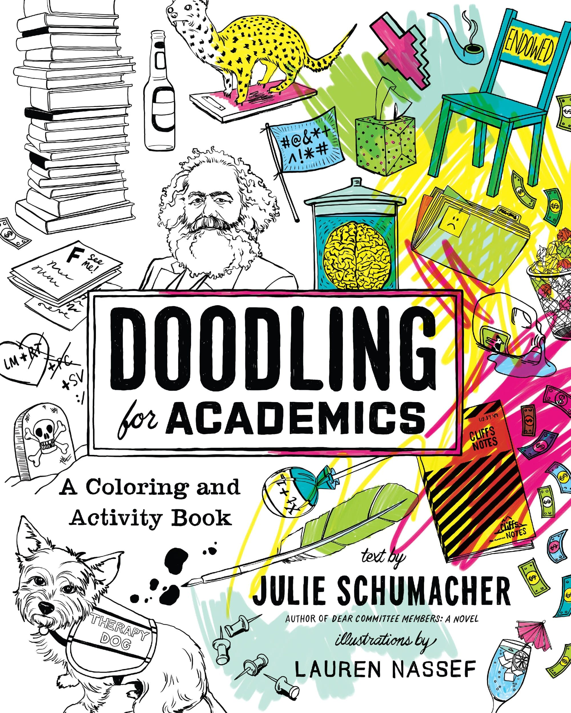 Doodling For Academics Book Cover