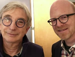 Michael Tilson Thomas and Fred Child