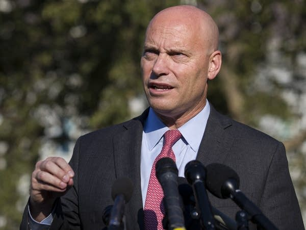 Marc Short, chief of staff for Vice President Mike Pence