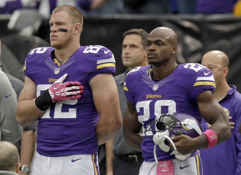 Adrian Peterson, Kyle Rudolph