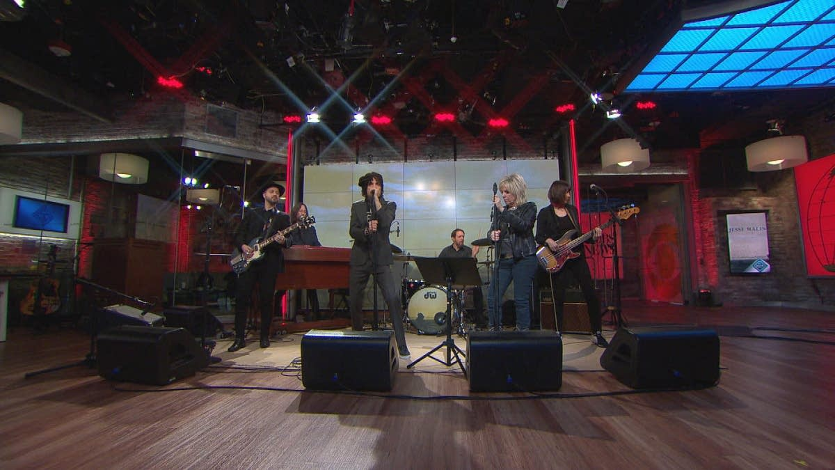 Jesse Malin and Lucinda Williams on CBS This Morning Saturday Sessions