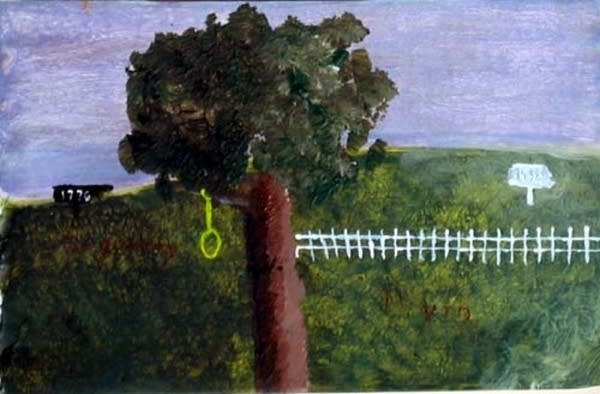 Landscape with noose