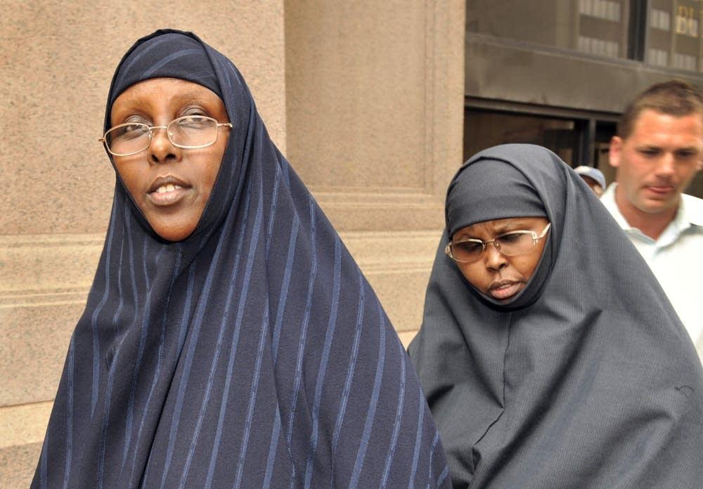 Hawo Mohamed Hassan and Amina Farah Ali