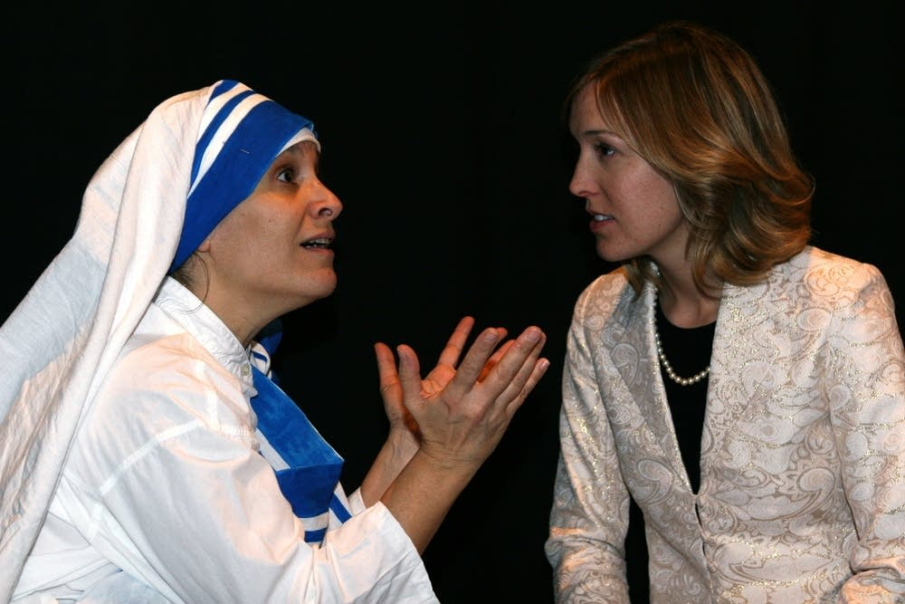 Mother Theresa and Diana
