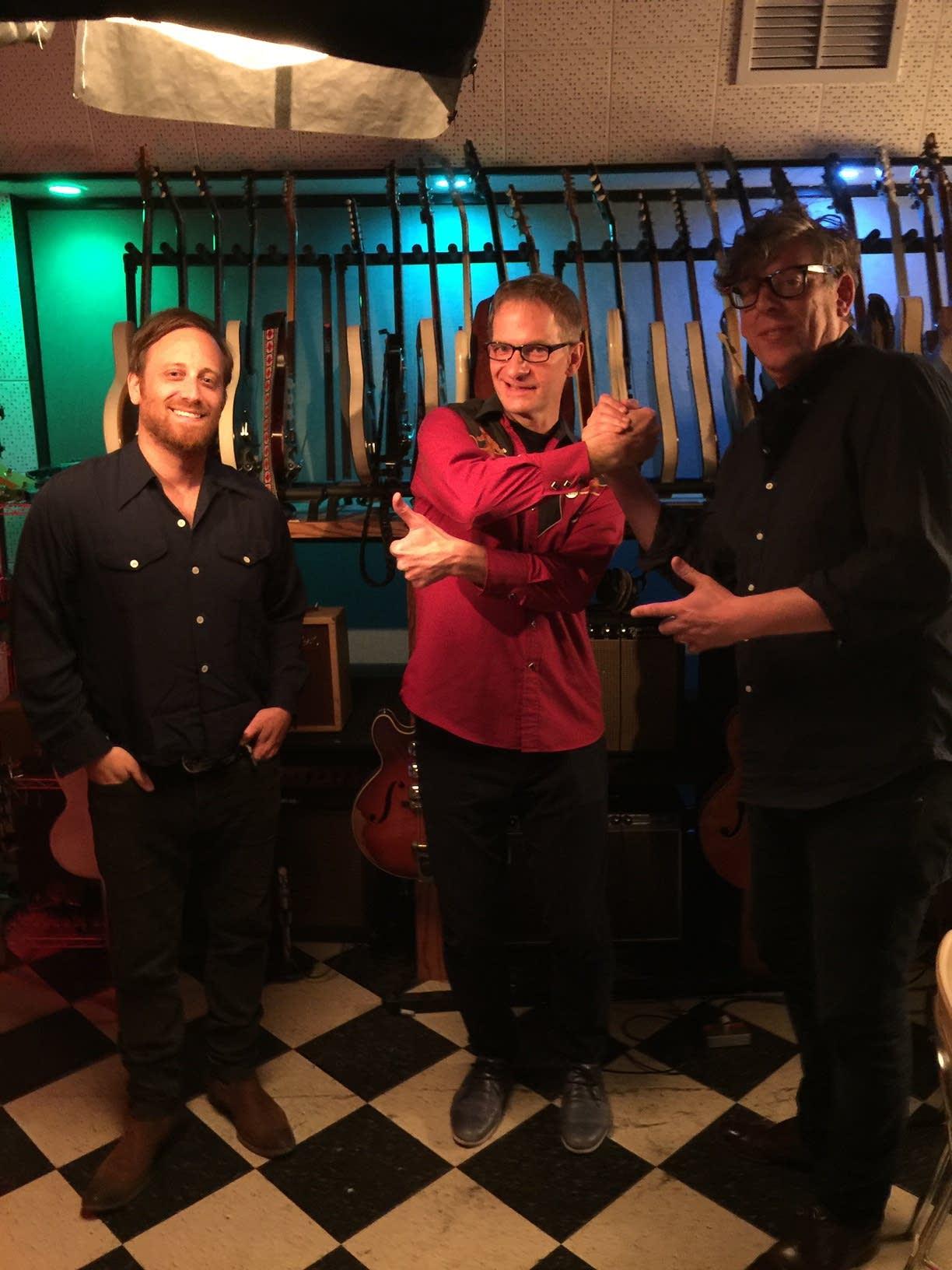 Jim McGuinn visits the Black Keys in Nashville