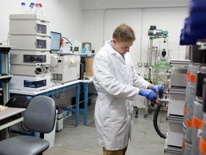 Medical marijuana lab