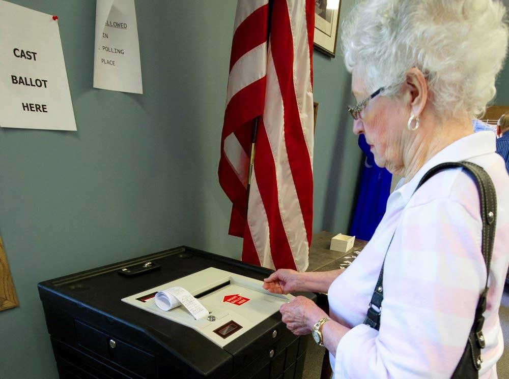 Recall voter
