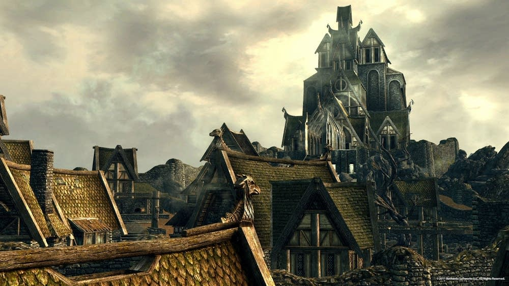 City of Whiterun in Skyrim