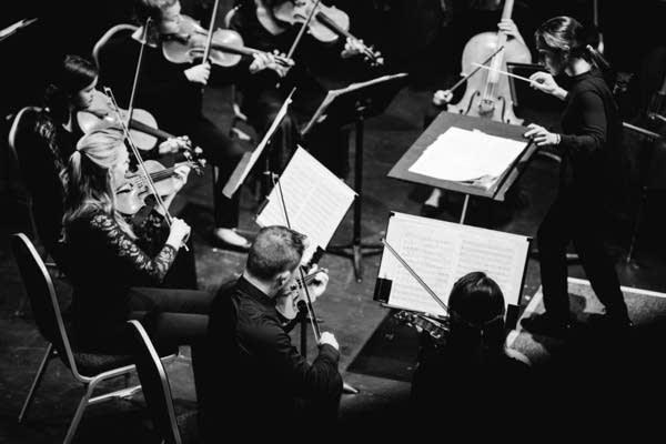 Conductor Michelle Rofrano