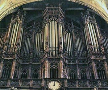 The 1841 Cavaillé-Coll organ of the basilica of Saint Denis, France