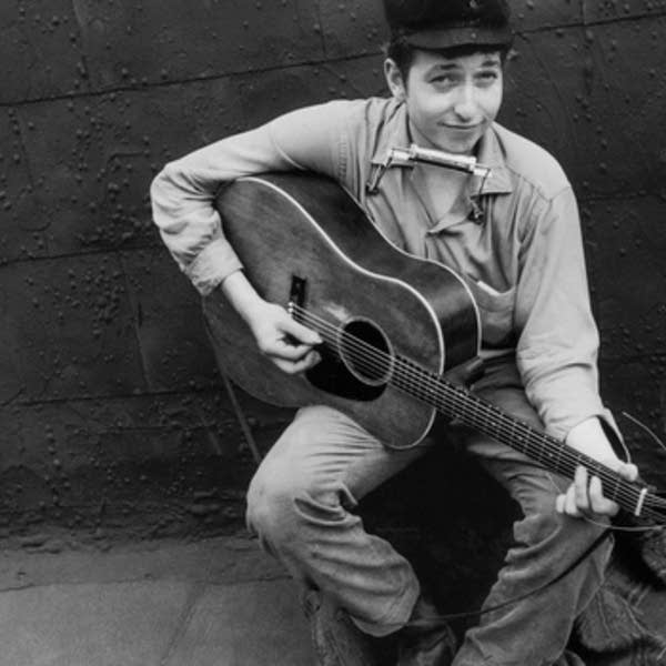 Bob Dylan in 1962