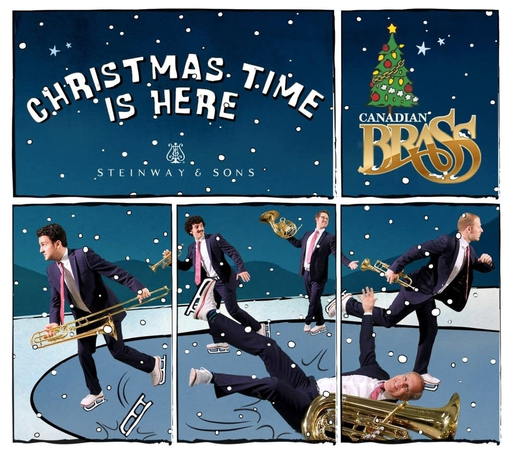 canadian brass christmas time is here album