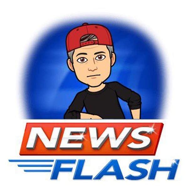 Luke's bitmoji has a news flash
