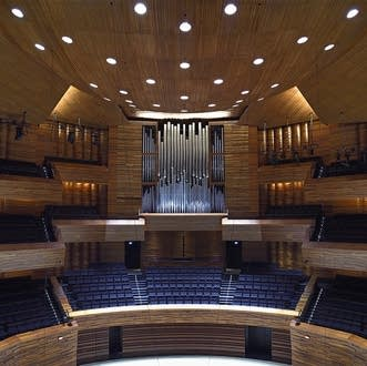 Grenzing pipe organ in the Radio France Auditorium