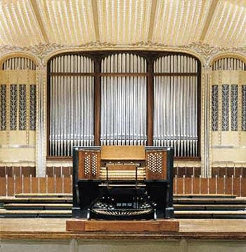 1931 E.M. Skinner organ in Severence Hall, Cleveland, OH