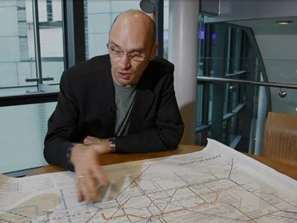James Wannerton and his Taste Tube Map