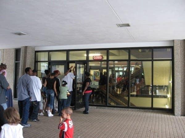 Line for public housing