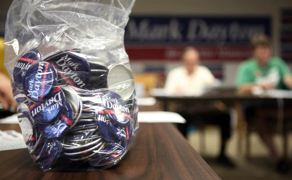 Mark Dayton buttons