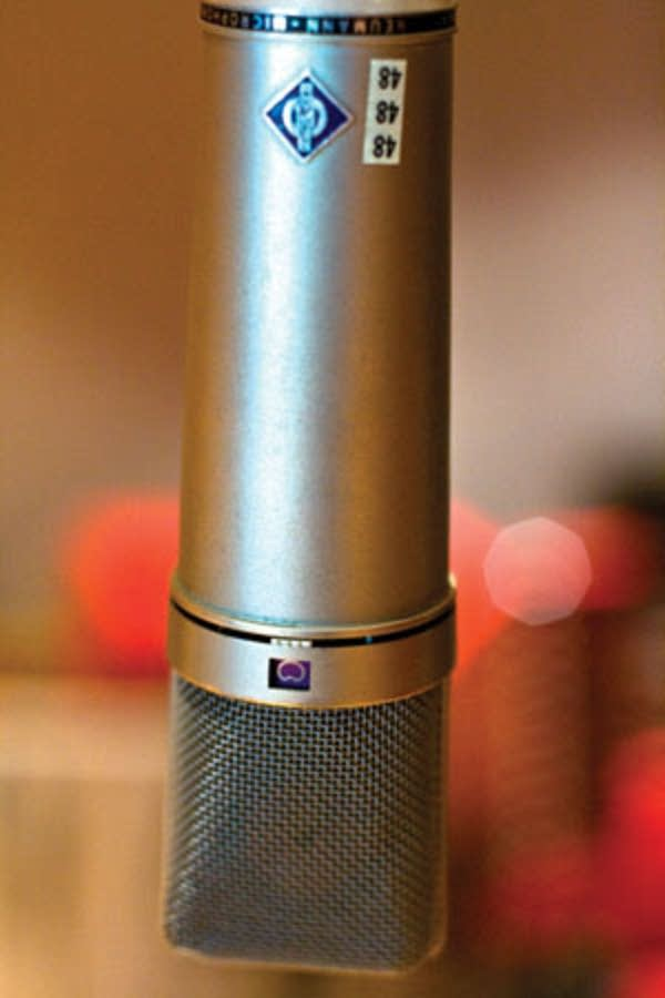MPR Studios microphone