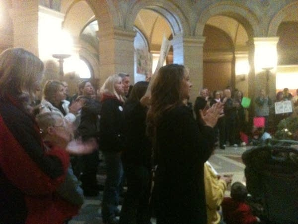 Protest at Minnesota State Capitol