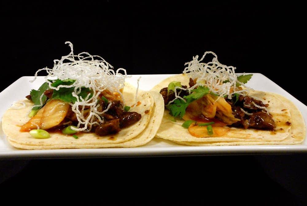 Shanghaied Henri's international tacos