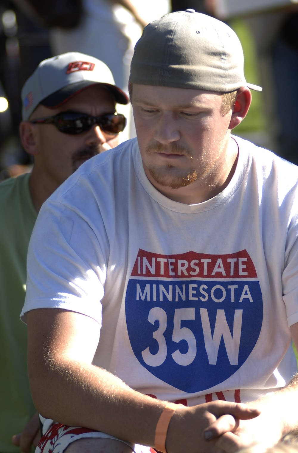 Bridge collapse survivor Josh Weidendorf