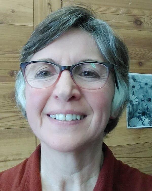 Melanie Van Alst is a school bus driver in Little Falls, Minn.