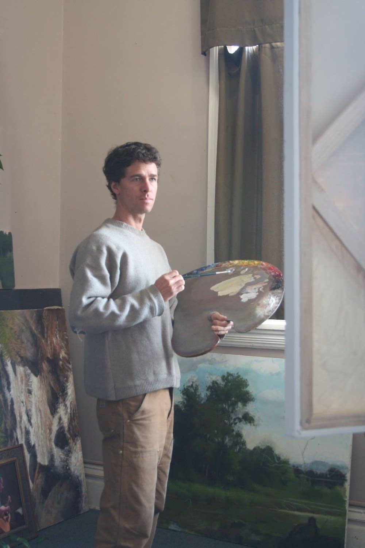 Stuart Loughridge self portrait