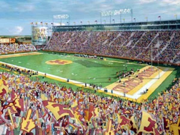 The proposed Gopher stadium