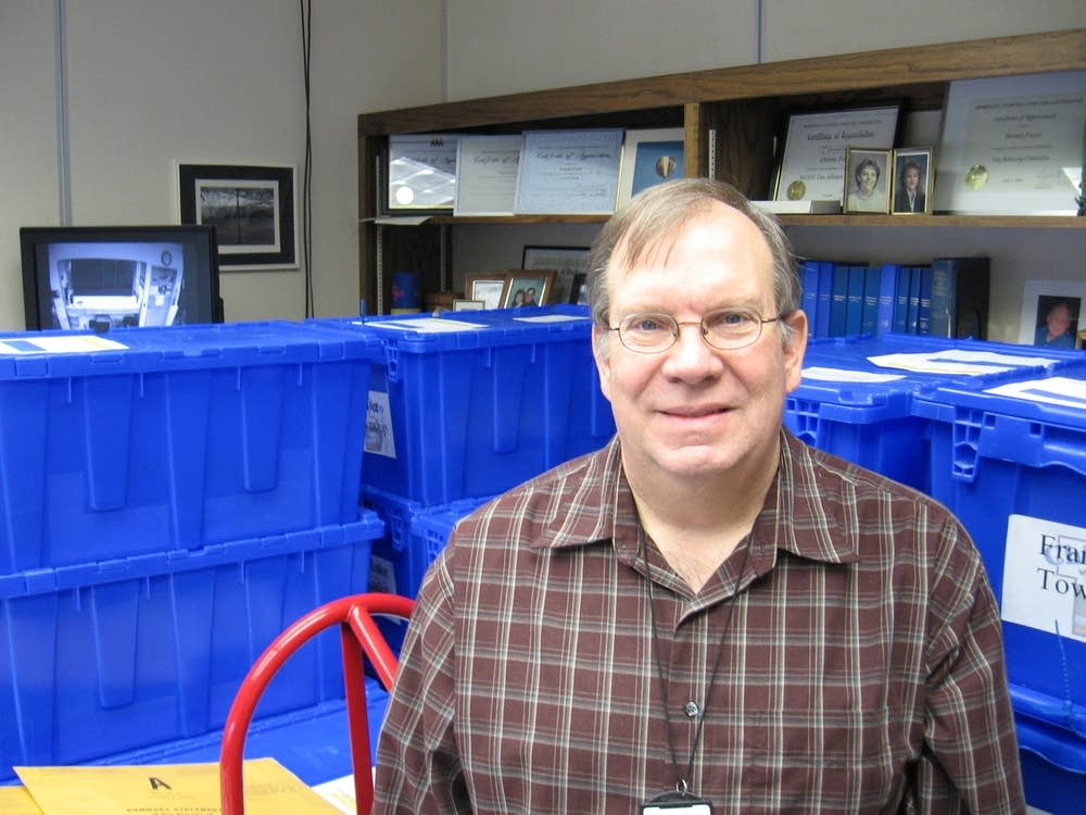 Chisago County auditor Dennis Freed