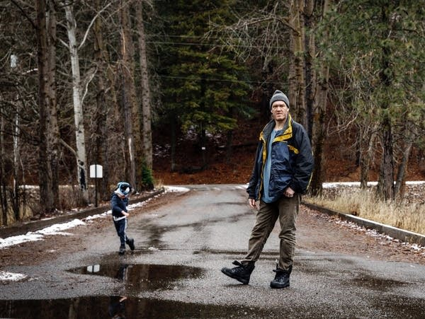 Floyd Kimball and his 4-year-old son, Steve, have lived for four years in public housing located on the Bunker Hill Superfund site in Wallace, Idaho.