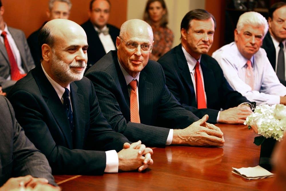 Paulson, Bernanke
