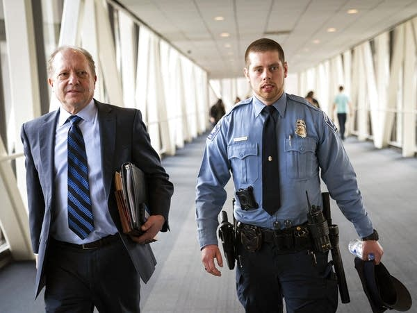Minneapolis police officer Matthew Harrity