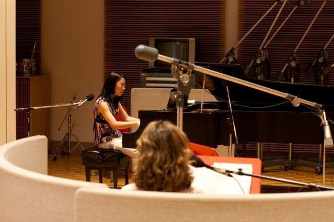 Maggie Yang performs at MPR