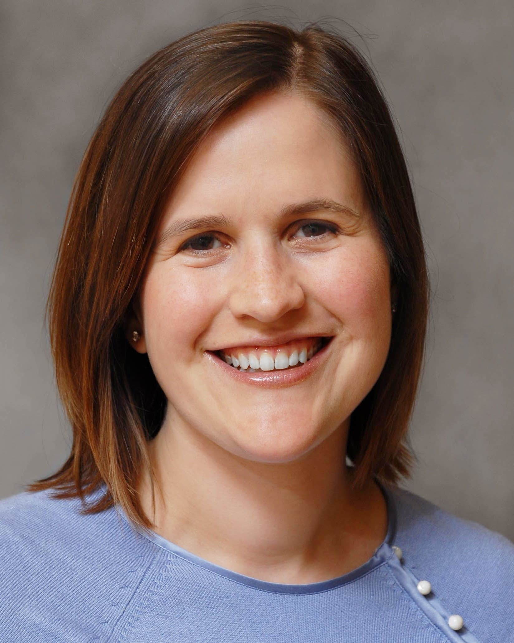 Emily Borman-Shoap runs the pediatric residency program at the U.