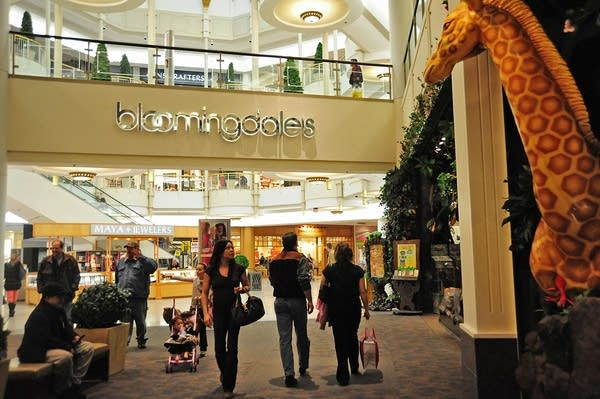 Shoppers at the Mall of America