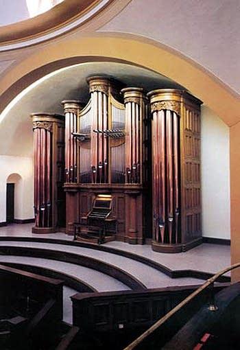 1990 Nordlie organ at First United Methodist Church, Sioux Falls, South...