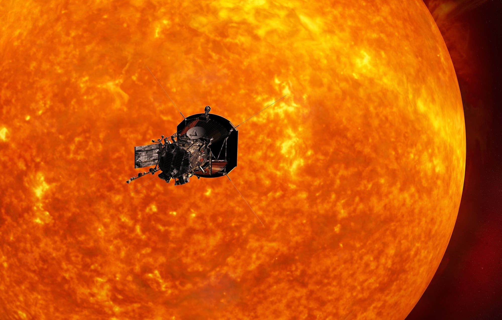 nasa spacecraft will aim straight for sun next year mpr news