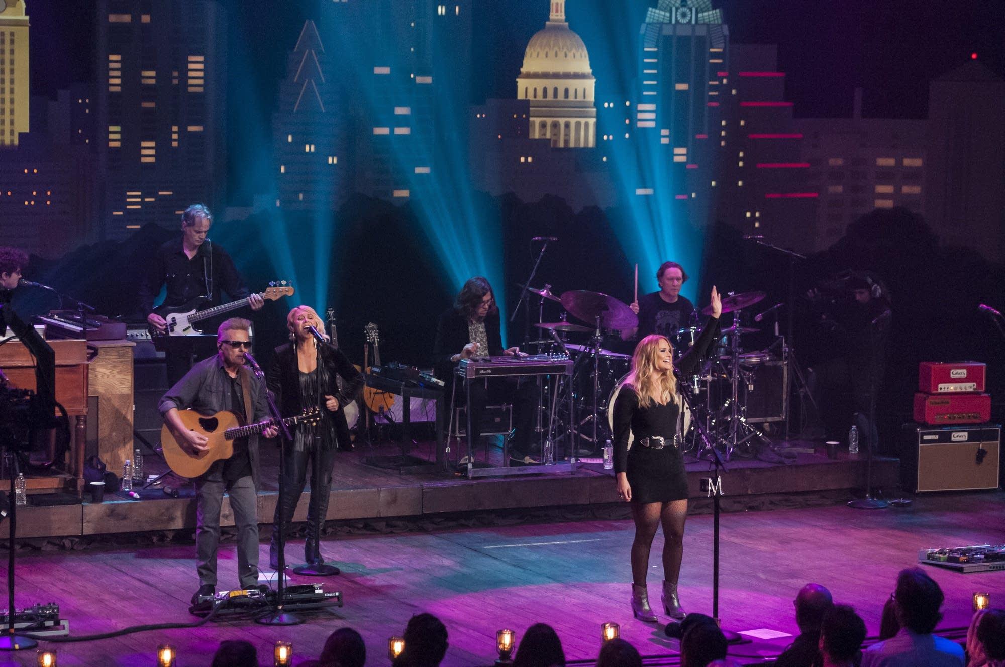 Miranda Lambert performs on 'Austin City Limits' on PBS