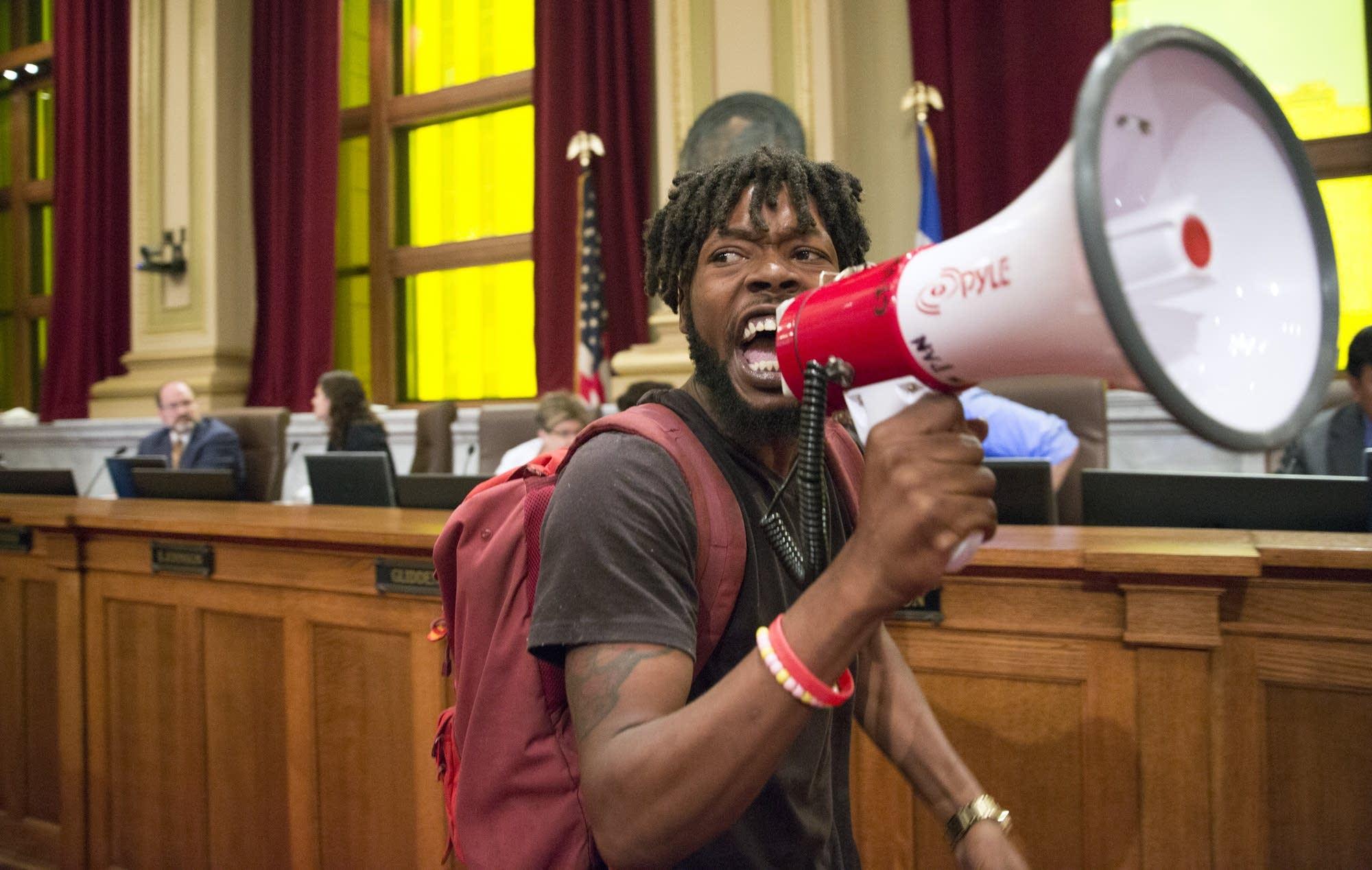 Rod Adams, of Neighborhoods Organizing for Change