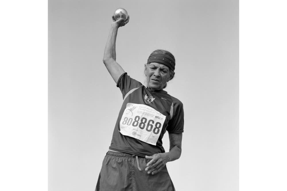 Johnnye Valien, 82, shot put