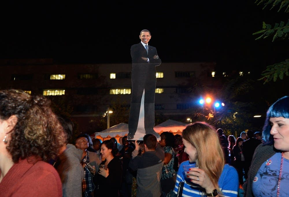 Obama supporter celebrations