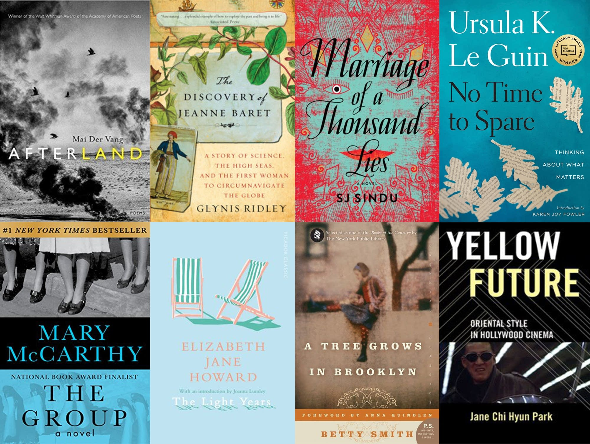 Reading recommendations for Women's History Month -- and all year.