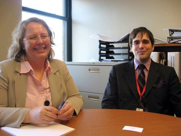 Randy Geurts and Susan Jacobsen