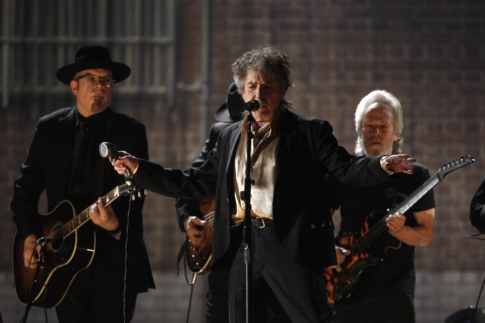 Bob Dylan at Grammys