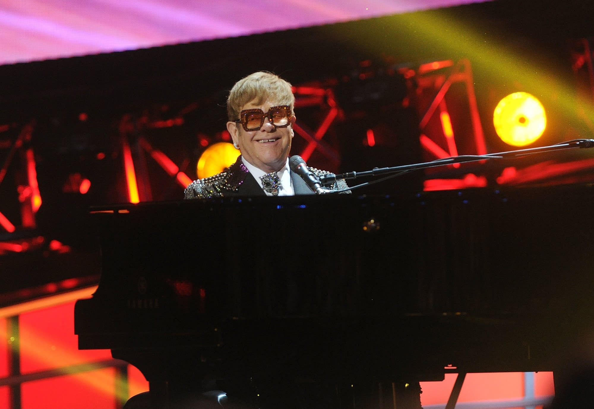 Elton John onstage