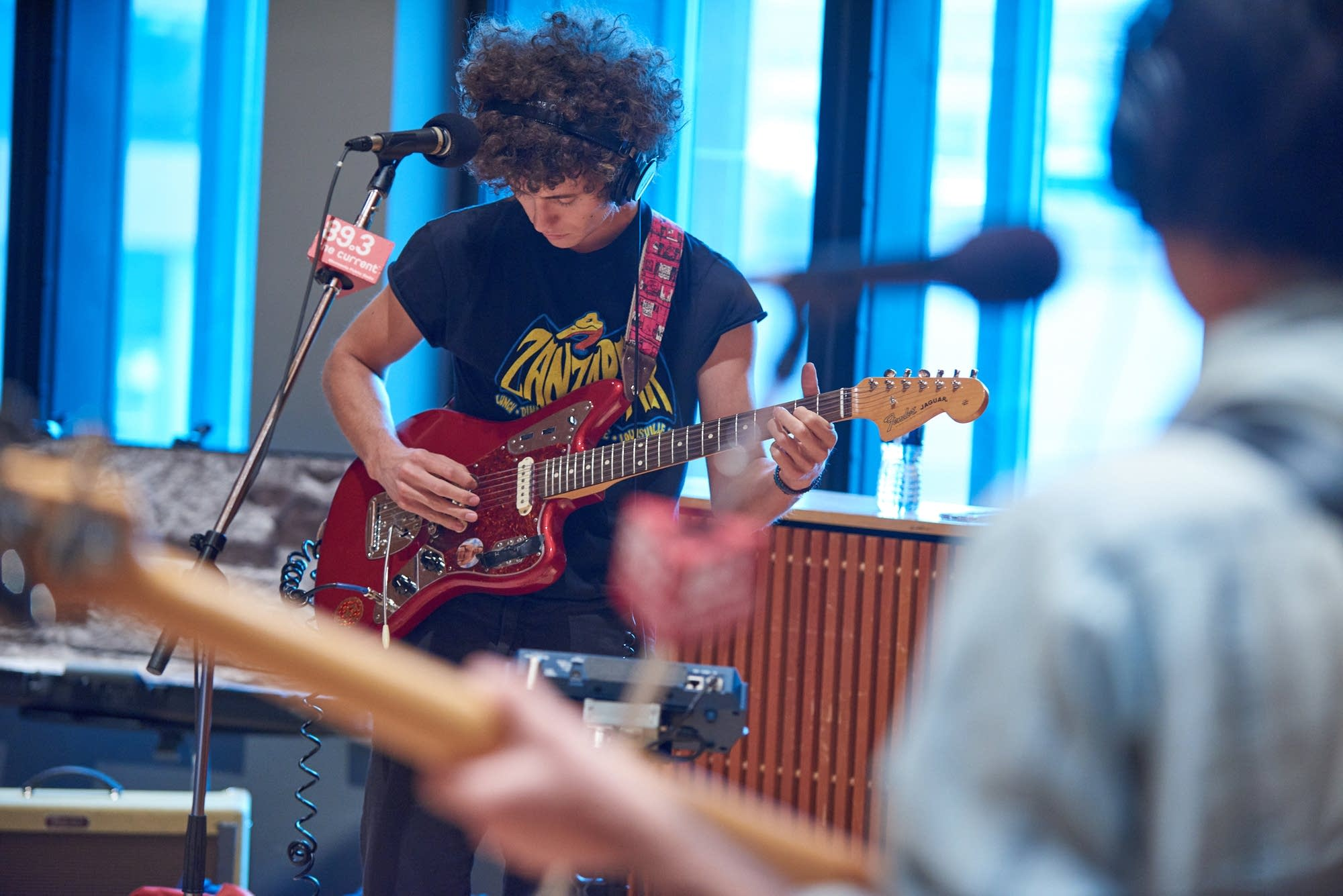 Ron Gallo performs in The Current studio